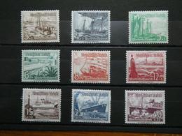 ALLEMAGNE Reich Secours D'hiver N° 594 à 602  Neufs Sans Charnière  Cote 110 € - Unused Stamps