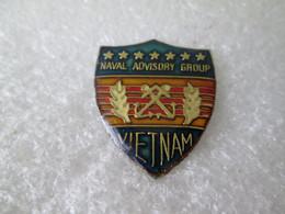 PIN'S    NAVAL  ADVISORY GROUP  VIETNAM - Militari