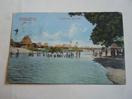 SOMALIA ITALIANA -- ESPOSIZIIOINE 1911 --GUADO SUL GUEBI GOFCA --- PIEGA CENTRALE - Somalië