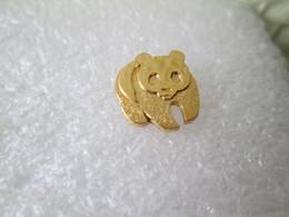 PIN'S    ANIMAUX   WWF  PANDA - Animali