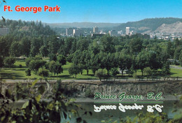 1 AK Kanada / British Columbia * Der Ft. George Park In Der Stadt Prince George * - Prince George