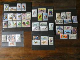 AFRIQUE  Les Séries Oiseaux Des Années Indépendance En Poste Aérienne   Cote 480€ Neufs Sans Charnière MNH - Collections, Lots & Series