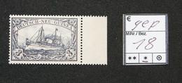 Nr.18 Deutsch-Neuguinea Randstück Ohne Gummierung Geprüft - Colonia: Nuova Guinea