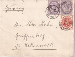 GRANDE-BRETAGNE 1899 LETTRE DE LINLITHGOW - Briefe U. Dokumente