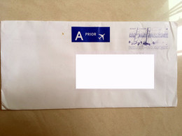 Belgium Private Cover Airmail To Malaysia De Kust La Cote The Coast Boat - Cartas