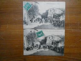 """FRANCE Hérault 2 Cartes Postales """"CAUSSINIOJOULS"""" (34) Retour De Battue Aux Sangliers Voir Scan - Other Municipalities"""