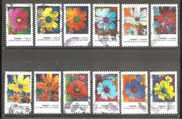 FRANCE 2020 Y T N ° 1851/1862 Série Complète Oblitérée CACHET ROND COSMOS - Used Stamps