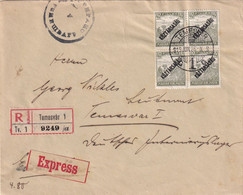 HONGRIE 1919 LETTRE RECOMMANDEE EXPRES DE TEMESVAR - Covers & Documents
