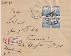 HONGRIE 1919 LETTRE RECOMMANDEE   DE TEMESVAR - Covers & Documents