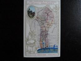 Z33 - Publicité Chocolaterie D'Aiguebelle - Les Colonies Françaises - Dahomey - Publicité