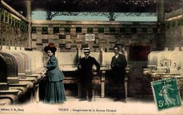 03 VICHY  Gargarisme De La Source Chomel  Colorisée - Vichy