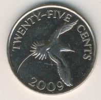 BERMUDA 2009: 25 Cents, KM 110 - Bermuda