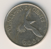 BERMUDA 2005: 25 Cents, KM 110 - Bermuda