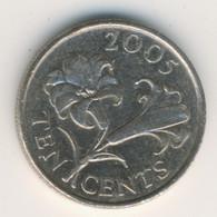 BERMUDA 2005: 10 Cents, KM 109 - Bermuda