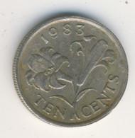 BERMUDA 1983: 10 Cents, KM 17 - Bermuda