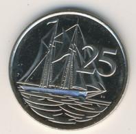 CAYMAN ISLANDS 2008: 25 Cents, KM 134 - Cayman Islands