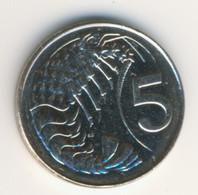 CAYMAN ISLANDS 2008: 5 Cents, KM 132 - Cayman Islands