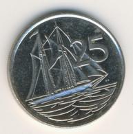 CAYMAN ISLANDS 1999: 25 Cents, KM 134 - Cayman Islands