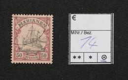 Nr. 14 Marianen Gebraucht - Colonia:  Isole Marianne