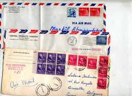 Lot 15 Lettres Flamme à Voir - Postal History
