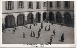 DOMODOSSOLA - COLLEGIO ROSMINI - PATTINAGGIO A ROTELLE - VERBANIA - VIAGGIATA - Verbania
