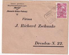 AUTRICHE 1910 LETTRE DE DOLNI RUDA - Cartas