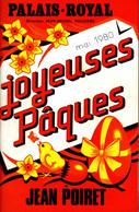 """Programme """"Joyeuses Pâques"""" 1980 - Programma's"""