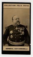 Collection Felix Potin - 1898 - REAL PHOTO - Général Giovanninelli - Félix Potin