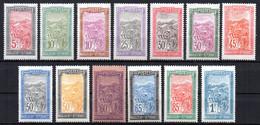 Col19  Madagascar N° 131 à 143 Neuf X MH Cote 11,30€ - Nuovi