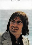 Programme Serge Lama 1977 - Programma's