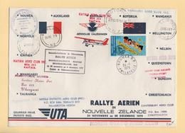 Rallye Aerien De Nouvelle Zelande - 1979 - Noumea Nouvelle Caledonie - UTA - Storia Postale
