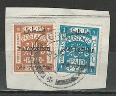 Palestine SG 49, 65, Mi 17 III, 31 O Used Jerusalem 29.1.22 - Palestina