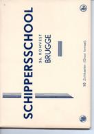 Brugge: Schippersschool 10 Groot Formaatkaarten - Brugge