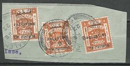 Palestine SG 49, 64, Mi 17 III, 30 O Used Jerusalem 7.2.22 - Palestina