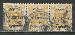Palestine SG 72, Mi 38 O Used Jaffa B 4.12.22 - Palestina
