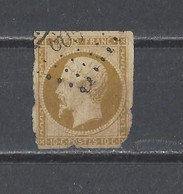 FRANCE.  YT  N° 9  Obl  1852 - 1852 Louis-Napoleon