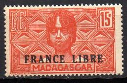 Col19  Madagascar N° 235  Neuf XX MNH Cote 21,00€ - Neufs