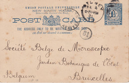 NEW SOUTH WALES 1901   ENTIER POSTAL/GANZSACHE/POSTAL STATIONARY CARTE DE SYDNEY - Briefe U. Dokumente