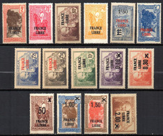 Col19  Madagascar N° Entre 242 & 264 Neuf X MH Cote 50,50€ - Neufs