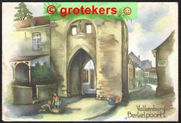 VALKENBURG De Berkelpoort Pasteltekening 1947 - Valkenburg