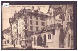 NEUCHATEL - ECLUSE ET FUNICULAIRE - TRAMWAY - TB - NE Neuchâtel