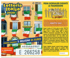 Biglietto Della Lotteria Italia 2020 - Lottery Tickets