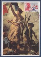 Philexfrance 89 Exposition Philatélique Mondiale Saint Pierre Et Miquelon 1 Juillet 1989 N°489 Carte Postale - Cartoline Maximum