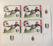 2004 - Italia - Milan - Campione D'Italia 2003/04 - E. 0,45 - 2001-10:  Nuovi