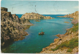 K4448 Carloforte (Carbonia Iglesias) - Calavinagra - Panorama - Barche Boats Bateaux / Viaggiata 1973 - Other Cities