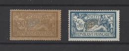 FRANCE. YT  N° 120d-123  Neuf *  1900 - 1900-27 Merson
