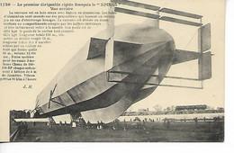 Aviation Le Premier Dirigeable Français Rigide LE SPIESS .....G - Luchtschepen