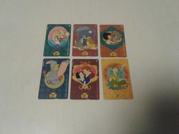 Israel  -  6 Nice Phonecard Full Set Disney - Israel