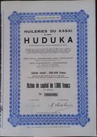 HUILERIES Du Kasai HUDUKA CONGO - Afrika