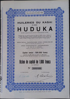 HUILERIES Du Kasai HUDUKA CONGO - Africa